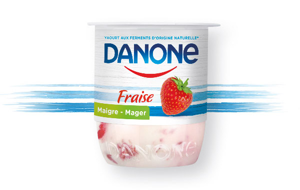 Danone en Fruit